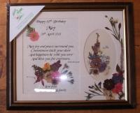 Birthday Wish Personalised 12x10