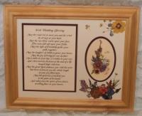 Irish Wedding Wish 11x14 Pine