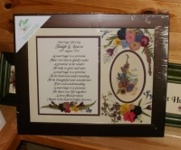 Marriage Blessing personalised 11x14